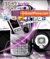 Nokia n73 03 theme screenshot