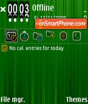 Скриншот темы Green 04