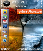 Fall Winter By Altvic theme screenshot