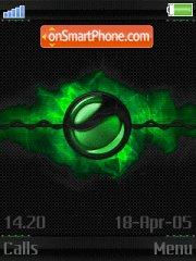 Voltage green es el tema de pantalla