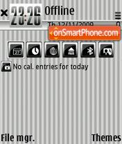 Liness theme screenshot