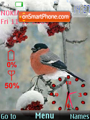 Bullfinch SWF theme screenshot