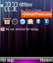 Purple lines 01 theme screenshot
