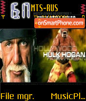 Hulk Hogan theme screenshot