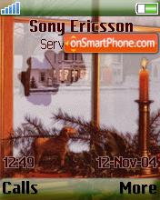 Christmas Window theme screenshot