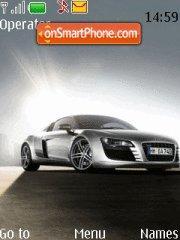 Audi R8 1 theme screenshot