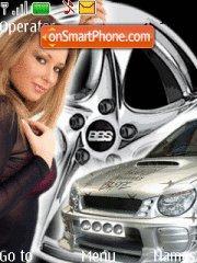 Girl&car4 theme screenshot