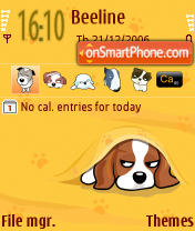 Happy Puppy v1 Theme-Screenshot
