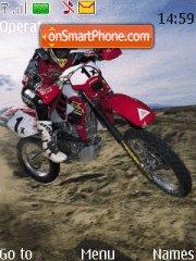 Moto3 theme screenshot