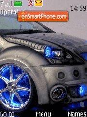 Neone car theme screenshot