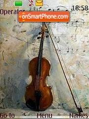 Violin theme screenshot