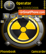 Danger theme screenshot