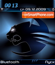 Roccat Kone Blue tema screenshot
