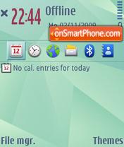 Nokia Nseries Evo theme screenshot