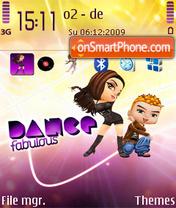 Dance fabolous. es el tema de pantalla