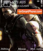Capture d'écran Resident evil 5 by altvic thème
