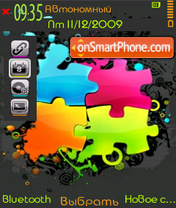 Neon Theme theme screenshot