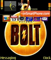 Disney's Bolt theme screenshot