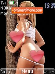 Hot Blonde Babes theme screenshot