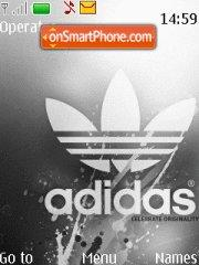 Addidas theme screenshot