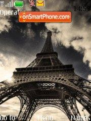 Eiffel Tower theme screenshot