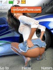 Girl&car6 theme screenshot
