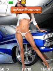 Girl&car7 theme screenshot