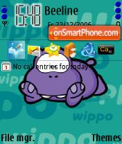 Wippo Friends theme screenshot