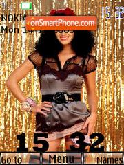 Katy Perry SWF Clock es el tema de pantalla