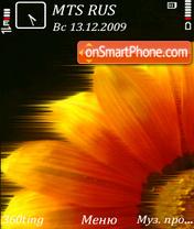 Скриншот темы Flower by altvic
