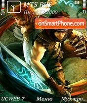 Capture d'écran Prince of persia 4 v2 by altvic thème