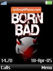 Born Bad es el tema de pantalla