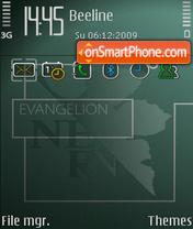 EVA 02 theme screenshot