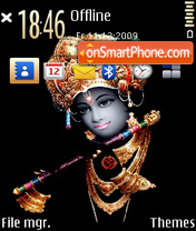 Krishna 01 theme screenshot