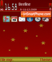 RedChristmas 01 theme screenshot