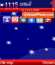 Merry christmas 3rd tema screenshot