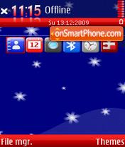 Скриншот темы Merry christmas 3rd