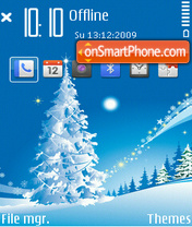 Xmas 03 tema screenshot