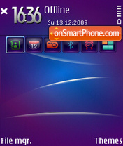 Capture d'écran Scempio3rd thème