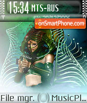 Amidala theme screenshot