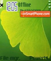 Greenleaf7610 es el tema de pantalla