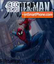 SpiderMan 12 theme screenshot