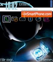 Astro Boy FP1(S) theme screenshot