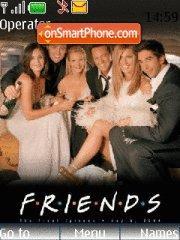Friends 10 theme screenshot