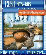 Ice Age The Meltdown theme screenshot