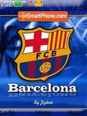 Скриншот темы Fc Barcelona 08