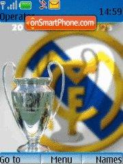 Real Madrid Cf 01 theme screenshot