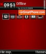 Скриншот темы Blood 02