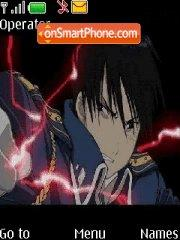 Roy Mustang tema screenshot