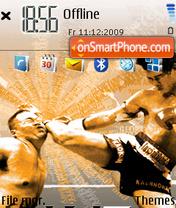 Fighting theme screenshot